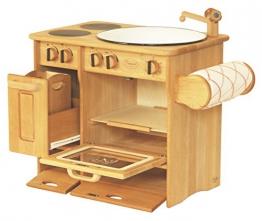 DL Drewart Kinderküche mit Zubehör Spielküche Massivholz