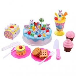 Arshiner Geschirrset Kinder Küchenzubehör Set. Kuchen/Muffins - Plastik