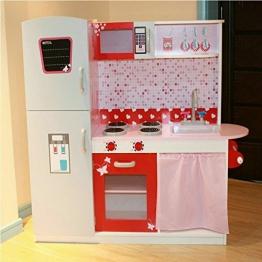 Aus Holz Groß Kinder Küche Kochen Role Play Rollenspiel Herd Kühlschrank Ofen Waschbecken-satz by Eurotrade Wooden Toy Kitchen