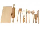 Back- und Kochset für Kinder - tolles Spielzeug für die Kinderküche und als Kaufladenzubehör