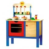 Bino 83720 - Kinderküche mit Zubehör, 17-teilig
