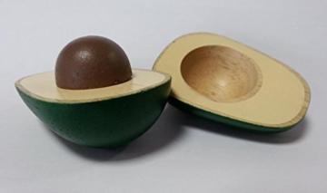 Estia 600239 Avocado aus Holz für Kaufladen oder Kinderküche
