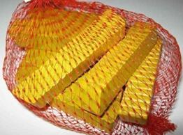 Estia 600287 Pommes Frites 10 Stk im Netz Holz für Kinderküche