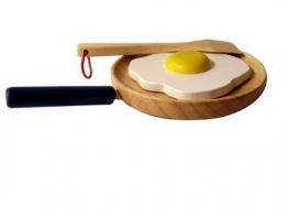 Estia 640014 Pfanne mit Ei für Kaufladen oder Kinderküche