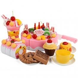Finer Shop Plastikfrucht Obst und Gem¨¹senetz Lebensmittel f¨¹r Spielk¨¹che Kaufladen Lebensmittel Spielzeug