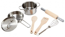 Hape E3137 - Kochset für Küchenchefs