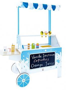 Hape E3139 - Mobiler Eisstand, Holzspielzeug