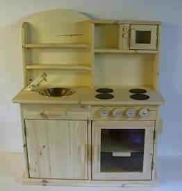 Holz Kinderküche - Naturfarben
