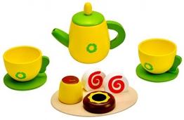 Idena 4100108 - Kleine Küchenmeister Kaffee - Set aus Holz, 11 teilig, circa 24 x 18 x 6 cm