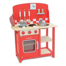 Indigo Jamm KIJ10051 Kitchenette Diner Spielküche aus Holz ab 3 Jahren