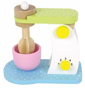 JaBaDaBaDo Küchenmaschine Mixer aus Holz für die Kinderküche