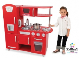 KidKraft 53156 - Rote Retro-Küche