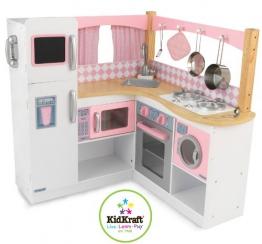 KidKraft 53185 - Grand Gourmet-Küchenecke, große Kinder Spielküche