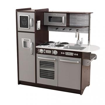 KidKraft 53260 - Espressofarbene Küche Uptown