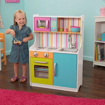 KidKraft 53294 - Kinderküche, in hellen Farben - 58,8 x 30 x 87,9 cm