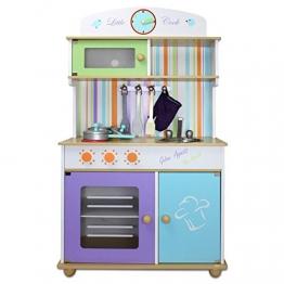 Kinderküche Froggy® Kinderspielküche Holzspielküche Spielzeugküche Holzküche Holz Küche