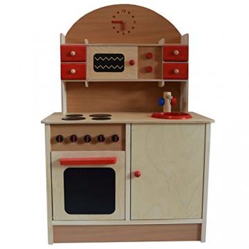 Kinderküche Küchenmöbel Holz Möbel Herd Spüle Holzherd Neu!