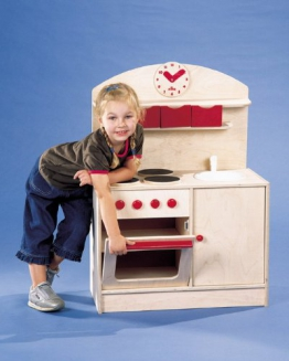 Kinderküche Kombi natur aus Holz E07916 von ELKA