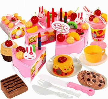 Kreatives Spiel Lebensmittel Spielen Kitchen Set für Kinder, Obstkuchen