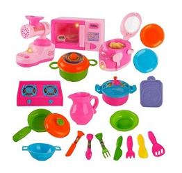 Kunststoff-Baby-Haus-Spiel-Haus-Spielzeug-Set Topfset Pretend