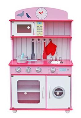 LEKEEZ Kinderspielküche Küchespielzeug Haushaltspielzeug für Rollenspiel für Kinder Mädchen 60*30*100cm