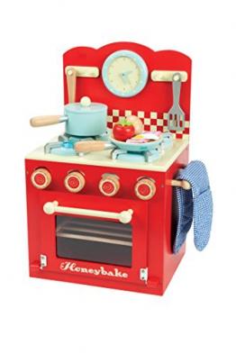 Le Toy Van Le Toy Van Küchenzeile mit Zubehör Rot