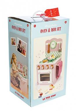 Le Toy Van TV303 Herd mit Backofen-Set Kinderküche pink Holz