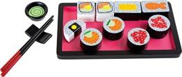Legler small foot Kinderküchen-Zubhehör Sushi-Set aus Holz -
