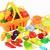 Lustiges Spiel Lebensmittel Spielen Kitchen Set für Kinder, Gemüse & Obst, 17pcs