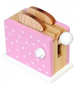 Magni Holz-Toaster mit Pop-Funktion für die Kinder-Spielküche mit 2 Toast-Scheiben in verschiedenen Farben erhältlich