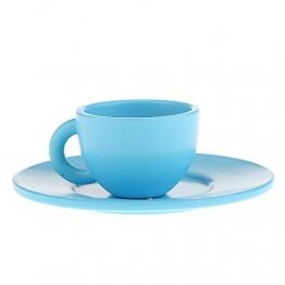 Mini Teetasse Kaffee Tasse Untertasse Spielzeug Kinderküche Holzspielzeug für Kinder