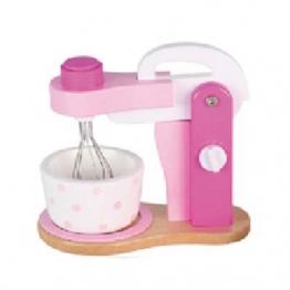 Mixer aus Holz für Kinder Kinderküche Rührgerät Haushaltsgerät Holzspielzeug-Peitz