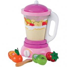 Obstmixer Smoothie Mixer aus Holz für Kinder Kinderküche Haushalsgerät Holzspielzeug-Peitz Spielzeug
