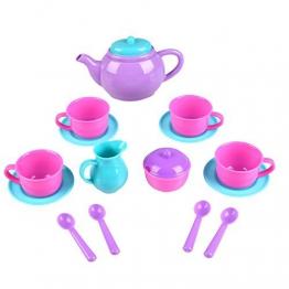 Peradix Kaffee und Teeservice Tee Set Spielzeug Kinder Rollenspiele