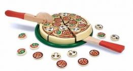 Pizza Holz Kinderküche Holzpizza 63 Teile