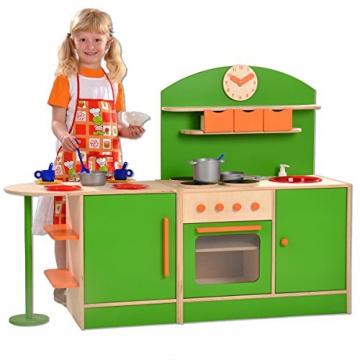 Plaho Kinderküche Bilbao mit Bar grün