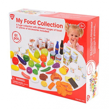 Playgo 3124 - Mein Lebensmittelsortiment, Küchenspielzeug
