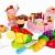 Schöne Wiedergabe Lebensmittel Spielen Kitchen Set für Kinder, Obst&Gemüse&Cake