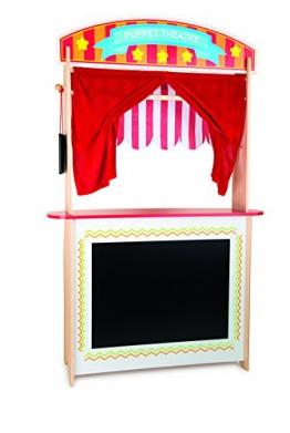 Small Foot 10328 - Verkaufsstand und Kasperletheater