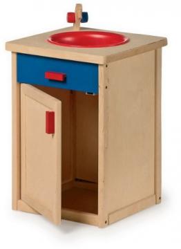 Spielküche Holzspielzeug Kinderküche SPÜLE aus HOLZ
