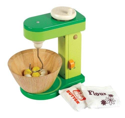 stand mixer mit sch ssel und deine kinderk che aus holz. Black Bedroom Furniture Sets. Home Design Ideas