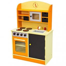 TecTake Kinderküche Spielküche aus Holz - diverse Modelle -