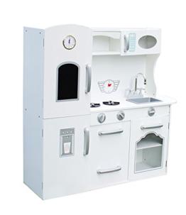 W10C205 Spielküche Kinderküche aus Holz Deluxe