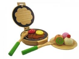 Waffeleisen - Set für Kinderküche Holz 640073