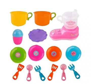Early Learning Baby-Home Küche Kochgeschirr Pretend Spielzeug-Set -