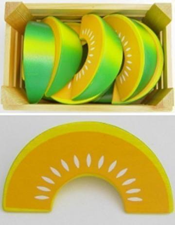 Estia 600271 Honigmelone für Kaufladen oder Kinderküche -