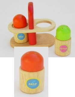 Estia 640024 Salz & Pfeffer Streuer im Set für Kinderküche -