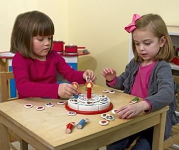 Geburtstagskuchen aus Holz mit Melodie * von Melissa & Doug -