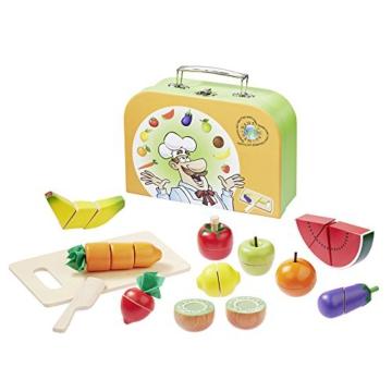 howa Schneideset Obst und Gemüse im Koffer 4874
