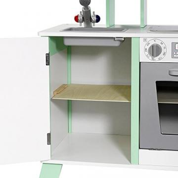 "howa Spielküche / Kinderküche ""Chefkoch"" aus Holz mit LED-Kochfeld 48203 -"